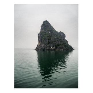 Halong Bay Rock Island Postcard