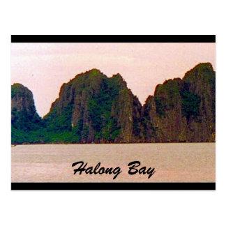 halong peaks postcard