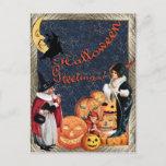 Haloween Greetings Postcard