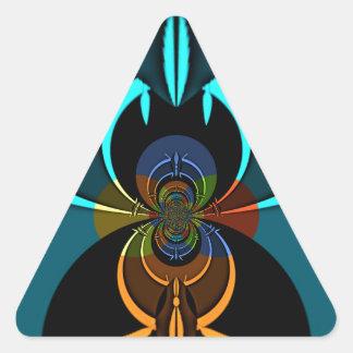Haloween Special Hakuna Matata Triangle Sticker
