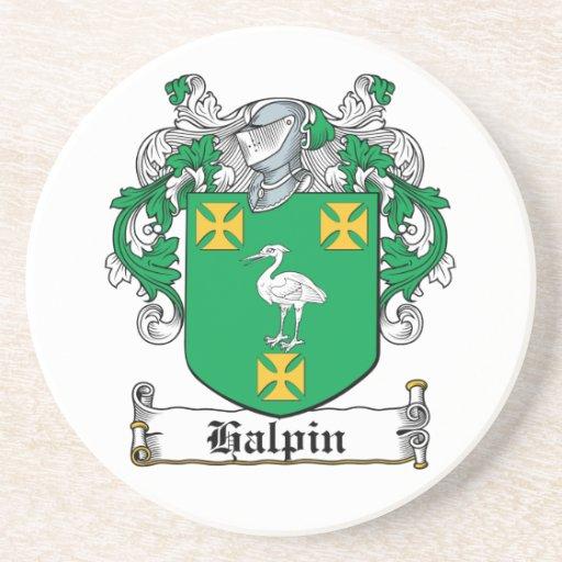 Halpin Family Crest Beverage Coaster