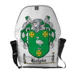 Halpin Family Crest Courier Bags