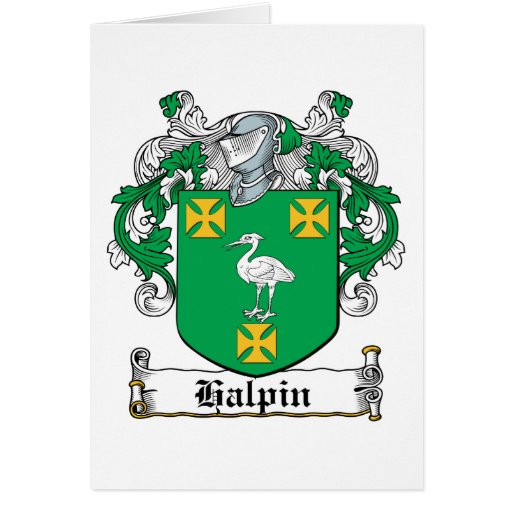 Halpin Family Crest Greeting Cards