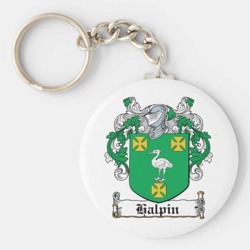 Halpin Family Crest Keychains