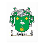 Halpin Family Crest Postcard