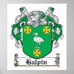 Halpin Family Crest Poster