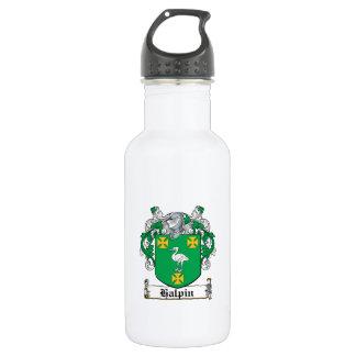 Halpin Family Crest Stainless Steel Water Bottle