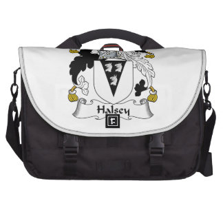 Halsey Family Crest Laptop Computer Bag