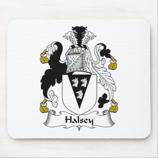 Halsey Family Crest Mouse Pad
