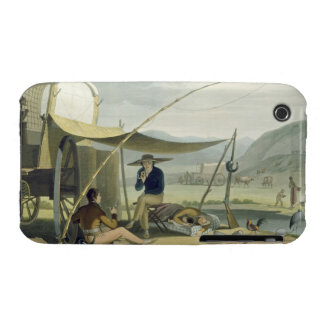 Halt of a Boor's Family, plate 17 from 'African Sc iPhone 3 Cover