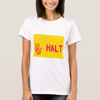 HALT WOMEN'S  T-SHIRT