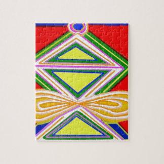 HALU HALOO Karuna Reiki - símbolos del triángulo d Rompecabeza