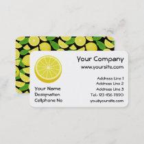 Halve Lemon Business Card
