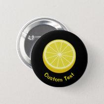 Halve Lemon Button