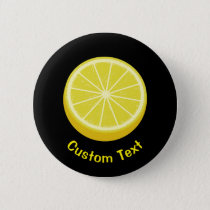 Halve Lemon Button
