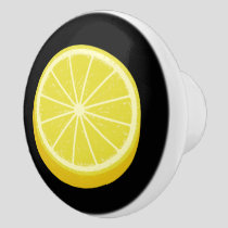 Halve Lemon Ceramic Knob