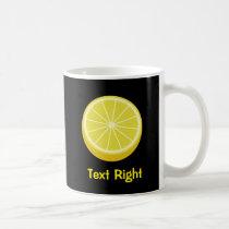Halve Lemon Coffee Mug