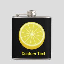 Halve Lemon Flask