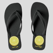 Halve Lemon Flip Flops