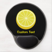 Halve Lemon Gel Mouse Pad