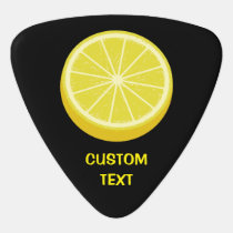 Halve Lemon Guitar Pick