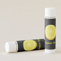 Halve Lemon Lip Balm