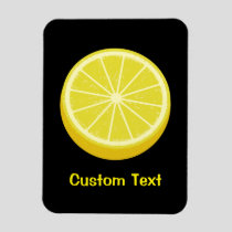 Halve Lemon Magnet