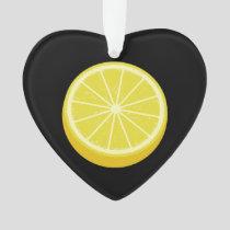 Halve Lemon Ornament