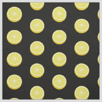Halve Lemon Pattern Fabric