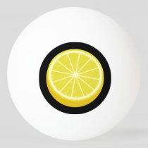 Halve Lemon Ping Pong Ball