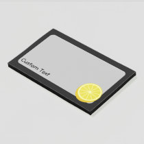 Halve Lemon Post-it Notes
