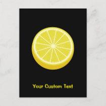 Halve Lemon Postcard