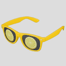 Halve Lemon Retro Sunglasses