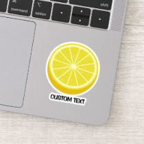 Halve Lemon Sticker