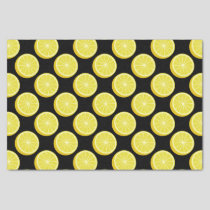 Halve Lemon Tissue Paper