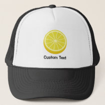 Halve Lemon Trucker Hat