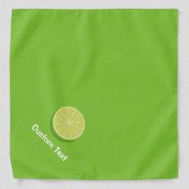 Halve Lime Bandana