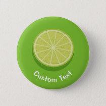 Halve Lime Button