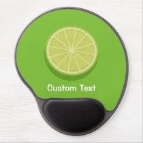 Halve Lime Gel Mouse Pad