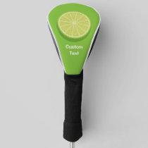 Halve Lime Golf Head Cover