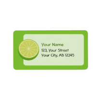Halve Lime Label