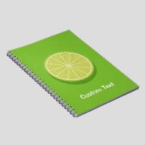 Halve Lime Notebook