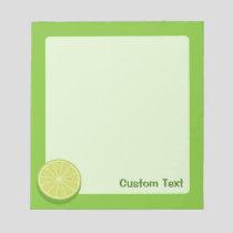 Halve Lime Notepad