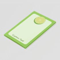 Halve Lime Post-it Notes