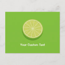 Halve Lime Postcard