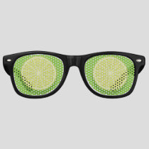 Halve Lime Retro Sunglasses
