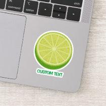 Halve Lime Sticker