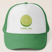 Halve Lime Trucker Hat