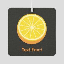 Halve Orange Air Freshener