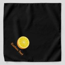 Halve Orange Bandana